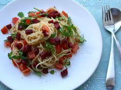 5 or less: Spaghetti met knapperige chorizo