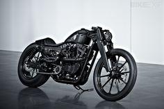 Rough Crafts 'Stealth Bullet' Sportster custom Harley Davidson