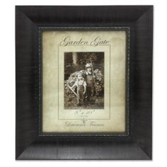 Lawrence Frames Wide Black with Antique Gold Bead Picture Frame, 8 by 10-Inch Lawrence Frames,http://www.amazon.com/dp/B00C7KTB4W/ref=cm_sw_r_pi_dp_bo-utb0TNDPGX9DD