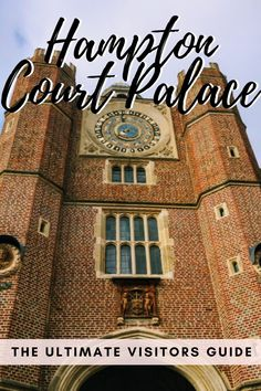 Everything you need to know before you visit Hampton Court Palace by a London local, including getting there from London and palace highlights. Europe Travel Guide, Packing List For Travel, Travel Guides, Travel Destinations, Sightseeing London, London Travel, Travel Uk, Day Trips From London, Things To Do In London