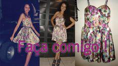 Aprenda a fazer vestido Pin Up por Alana Santos Blogger