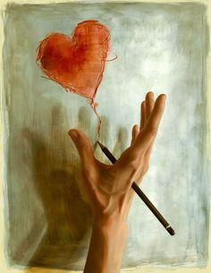 """Drawing Blood"" by Nykolai Aleksander on #INPRNT - #illustration #print #poster #art"