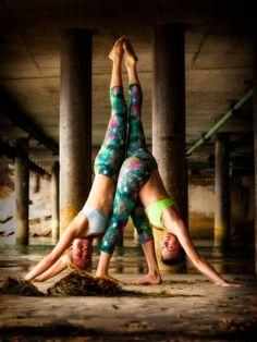 Jessie Monds Amanda Manfredi partner yoga