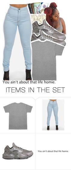 """im bored"" by trillest-shauney ❤ liked on Polyvore featuring art"