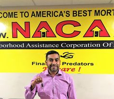 "Mr. Cordoba is a great example of the power of the interest rate buy down function of the #NACAPurchase Program:  ""Happy about my interest rate.  Thank you!"" At 0.5% (yes, one-half of one percent) you would be happy too!  #AmeriocanDream #NACAPurchase #Newark 0.673% APR"
