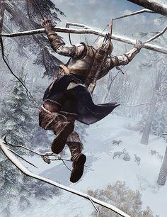Assassins Creed III. Connor Kenway.