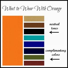 Clothed with Grace: What to Wear With Orange