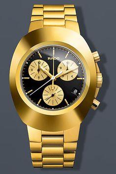 Rado Original Chronograph Gold Watch