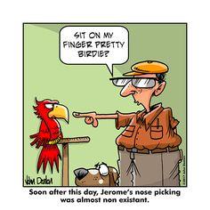Farm Cartoon, Nose Picking, Comic Panels, Funny Sayings, Funny Cartoons, Crackers, Lol, Humor, Funny Proverbs