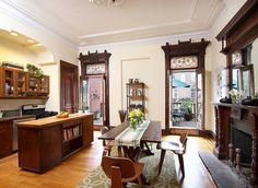 Berkeley Place Brooklyn New York brownstone Victorian kitchen interior | Flickr - Photo Sharing!