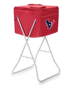 Take a look at this Red Houston Texans Party Cube Cooler by Picnic Time on #zulily today!