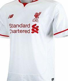 1390c2cabc2 New Balance Liverpool Away Shirt 2015 16 - Kids White WSTJ546 Liverpool  Away Shirt 2015