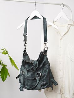 a0103e3976b8 A.S. 98. Sling-me Leather Bag at Free People Clothing Boutique Fringe Purse