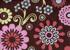 5.99/yd FABRIC SALE 1 Yard Pink Brown Floral Fabric Serendipity Fabric CLEARANCE Fabric Last Chance Fabric 100% Cotton Fabric Quilt Fabric by FabricBrat on Etsy