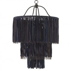Unparalleled in craftsmanship and style, Currey and Company's bestselling Boho Chandelier is sure to dazzle! This striking fixture, inspired by DIY fashion trends, is painstakingly constructed by hang Diy Luz, Diy Luminaire, Diy Chandelier, Bronze Chandelier, Home And Deco, Lampshades, Diy Fashion, Fashion Trends, Light Fixtures