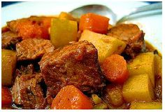 Crock Pot Savory Beef Stew...made this delicious recipe...it was wonderful on a chilly day!