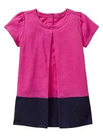 Can I get one in my size?!? Colorblock dress from Gap