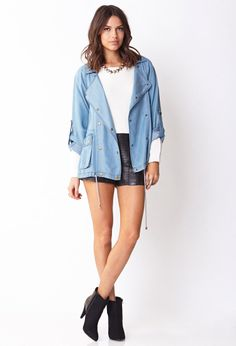 Life In Progress™ Everyday Chambray Jacket | FOREVER21