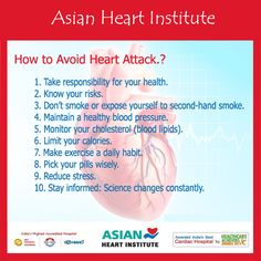 How to Avoid #Heart #Attack.? Tips From #AHI