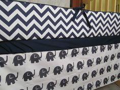 Custom Blanket Skirt & Sheet Crib Bedding Set in by BlanketsETC, $200.00