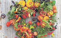 Edible wreath!