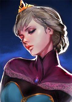 Elsa ; Frozen