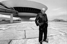 Crédito: Evandro Teixeira/Divulgação. Oscar Niemeyer.