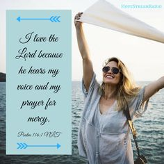 I love the Lord!
