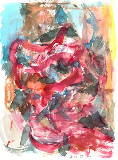 Laokoon (Berlin) Watercolour on paper | 31x23 cm | 2014 | OCH-A-14-