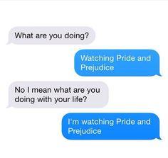 I'm watching Pride & Prejudice #janeausten #fanart