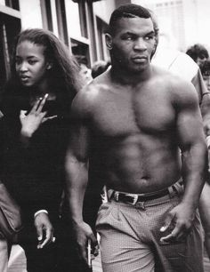 Naomi Campbell - Mike Tyson