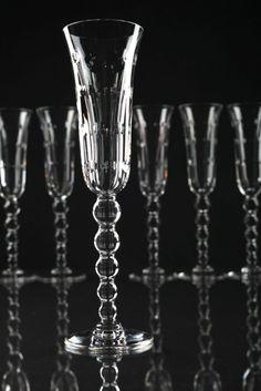 1 von 14 Champagnerflöte Sektglas Bubbles Saint-Louis Glas Kristallglas St Louis