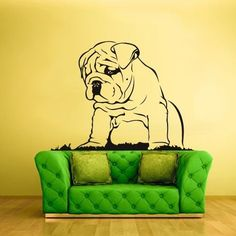 Wall Vinyl Sticker Decals Decor Art Bedroom Dog Animal shar pei (z1219) #3MFDC