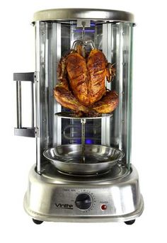 Electric Vertical Rotary Kebab Tandoor Grill Pizza Maker @ 30% Off - Who Make These Mouth Drooling Pizzas