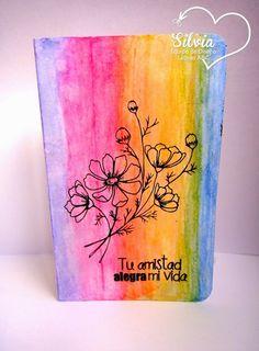 Latinas Arts and Crafts: Reto 29: Clean & Simple, 1 sola capa
