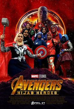 These Muslim Girls Entered And Won A Marvel Cosplayer Competition And People Love Them Marvel Cosplay Girls, Muslim Book, Hello Internet, Princess Merida, Avengers Cast, Hijabi Girl, Star Lord, Muslim Girls, Doctor Strange
