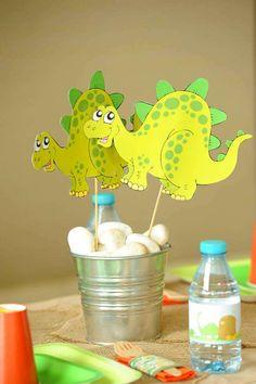 Dinosaurs Birthday Party Ideas | Photo 1 of 24