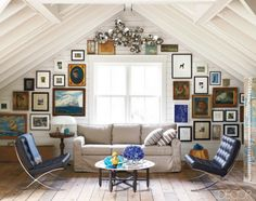 love the use of wallspace