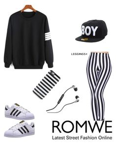 """""""Untitled #99"""" by tinatin28 ❤ liked on Polyvore featuring adidas Originals, BOY London, Skullcandy and Kate Spade"""