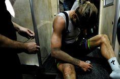 Peter Sagan after Paris Roubaix