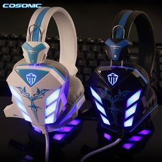14.60$  Watch now - http://aliilj.shopchina.info/1/go.php?t=32797530125 - Cosonic CD 618 Pro USB 3.5mm Gaming Headset Stereo Bass Surround Gamer Headphone With Microphone LED Light For Computer Laptop  #aliexpress