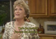 The Golden Girls. Blanche!