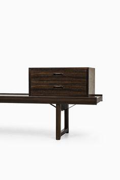 Torbjørn Afdal Krobo bench in rosewood at Studio Schalling