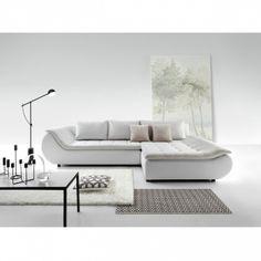 Canapé d'angle PRATO convertible et personnalisable - Fedmix Angles, Canapé Angle Convertible, Modernism, Floor Plans, Couch, Table, Furniture, Design, Home Decor