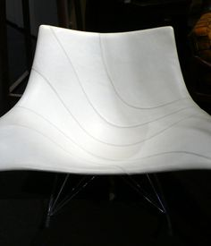 Show newcomer Ma(i)sonry, out of Napa Valley, brought a contemporary Stingray rocker by Thomas Pedersen. (They also brought the wine.)  P...