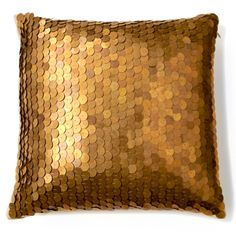 nate berkus metallic sequin pillow