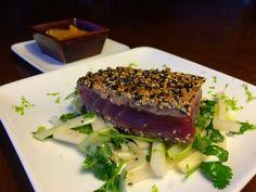 sesame-seared tuna ~ #food #cooking #recipe #nutrition #tuna #seafood #Thai #doctor #health #healthyeating #tuna #TheTaste #PKWay