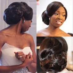 """""""Absolutely Gorgeous! Hairstyles by @papachichistyle #onpointbride #weddingsonpoint"""""""