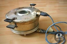 "Prodiż - electric baker, used for ""babka"" my mom had one! She never used it, it burned everything in it, lol. My dad used it in his studio for heat treating amber"