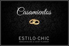 Casamientos con ESTILO CHIC